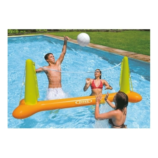 Inflatable Swimming Pool Volleyball Net Set