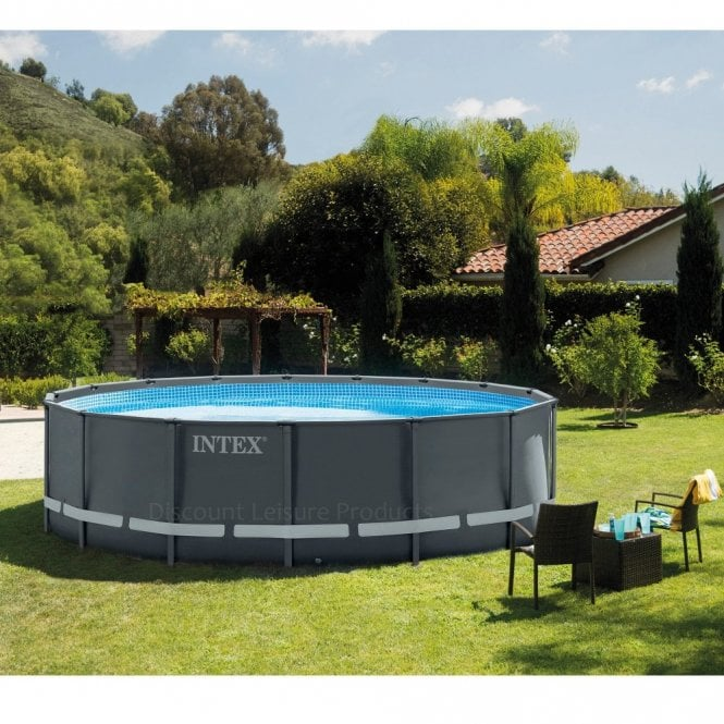 Intex Ultra XTR Frame Above Ground Swimming Pool 16ft x 48\