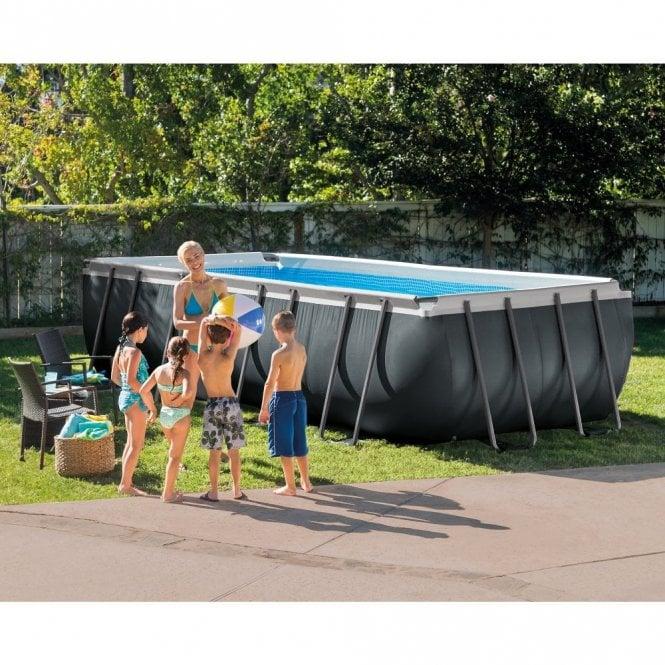 Intex Xtr Rectangular Swimming Pool 18ft X 9ft X 52 Inch Deep