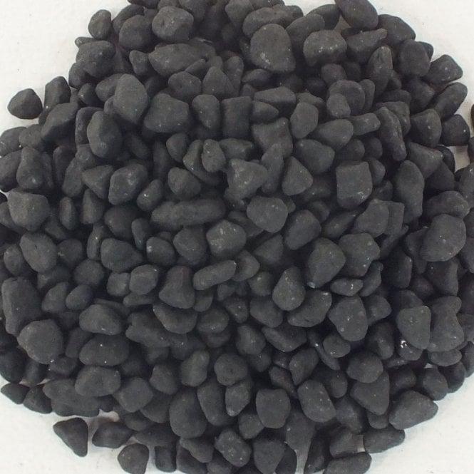 Unipac Aquarium Black Coloured Gravel Substrate Stones