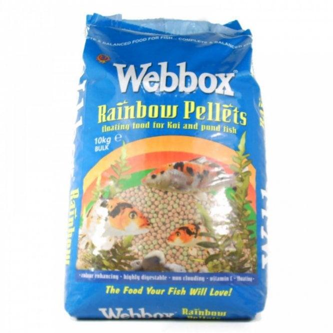 Rainbow Pellet Floating Koi & Goldfish Pond Fish Food 10Kg